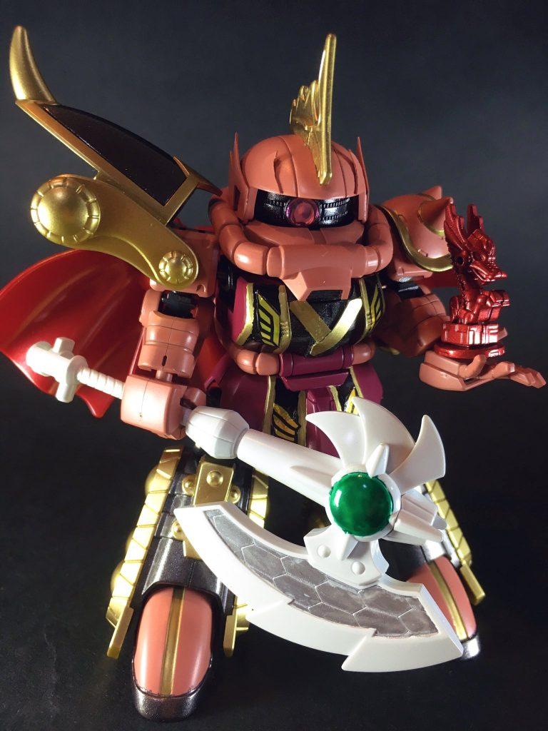 【SD三国伝】晋武皇帝 司馬炎ザクⅡ