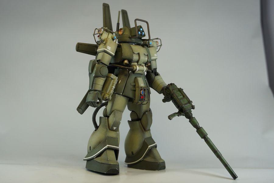 MS-06E-3 ザクフリッパー 熱帯戦仕様