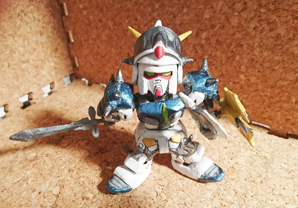 鎧騎士ガンダムF90(EXスタンダードガンダムベース)