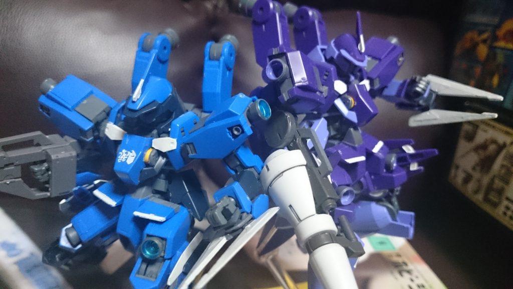 群青と紫苑のシュヴァルベ
