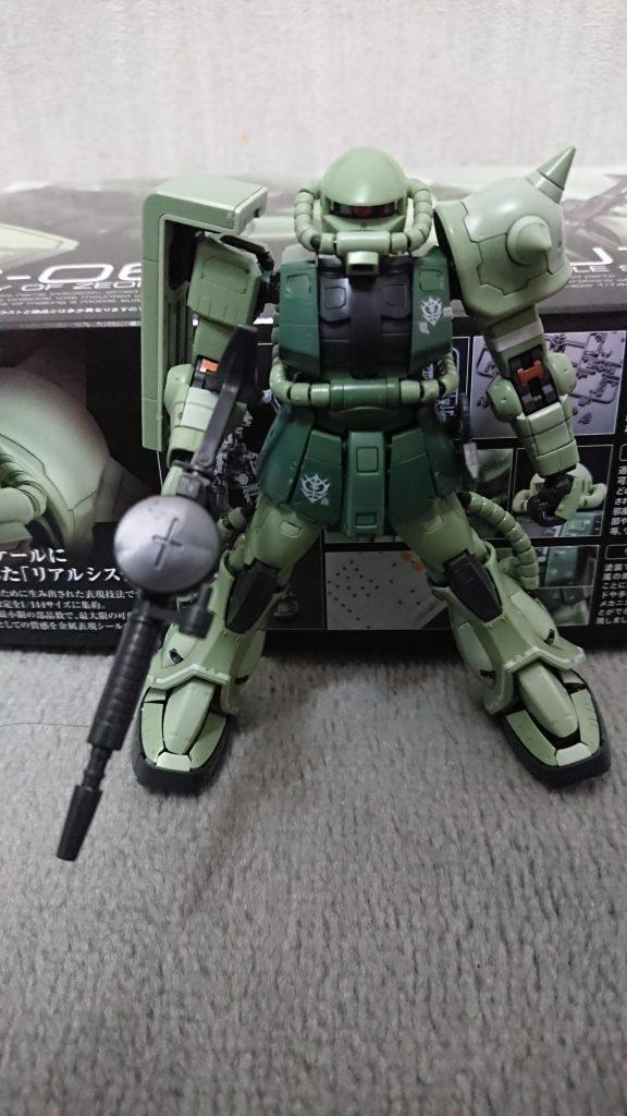 RG 1/144 MS-06F ザクII