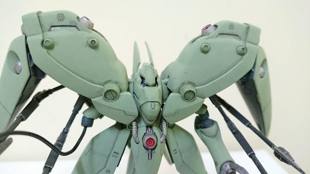 HG AMX-002 ノイエ・ジール!すさまじい耐久力のMA!