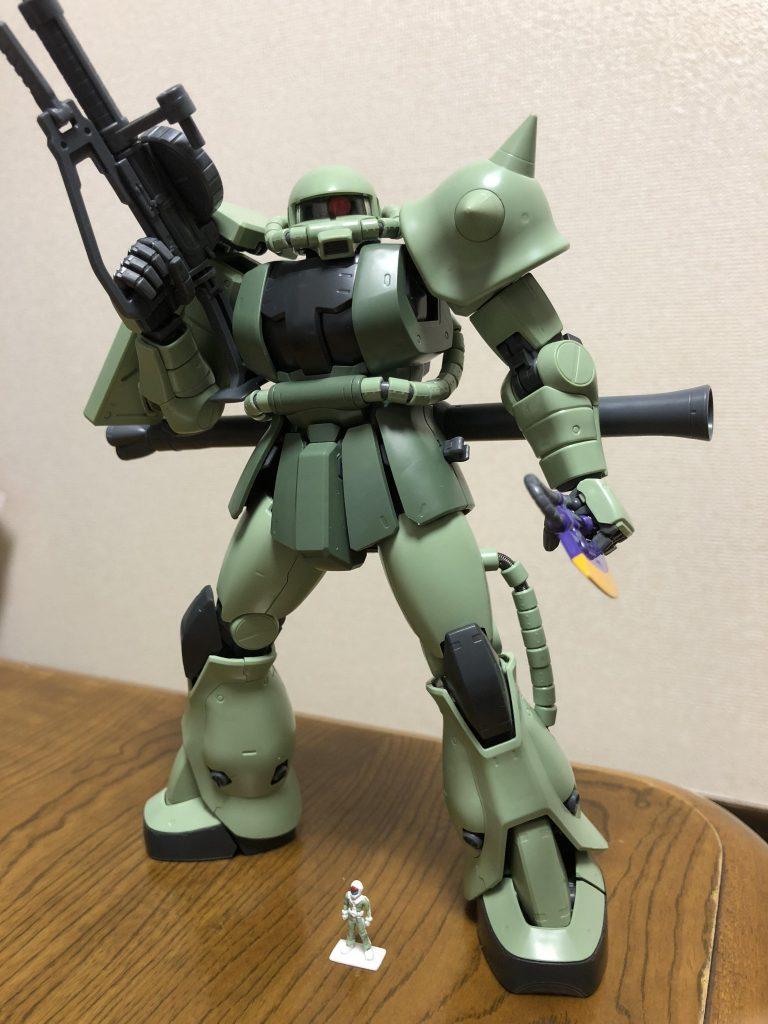 MGザクⅡF型ver2.0