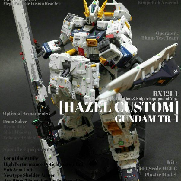 HGUC ガンダムTR-1 [ヘイズル改] スナイパー装備状態