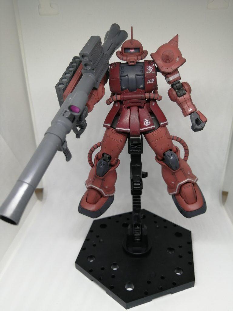 HG 1/144 シャア専用ザクII(オリジン)