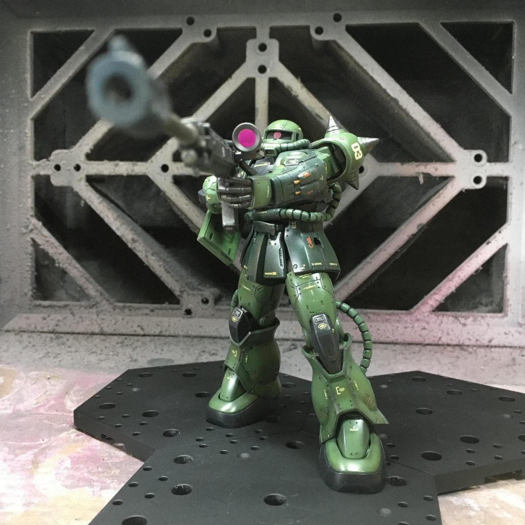 ORIGIN 016 ZAKU Ⅱ Type C-5