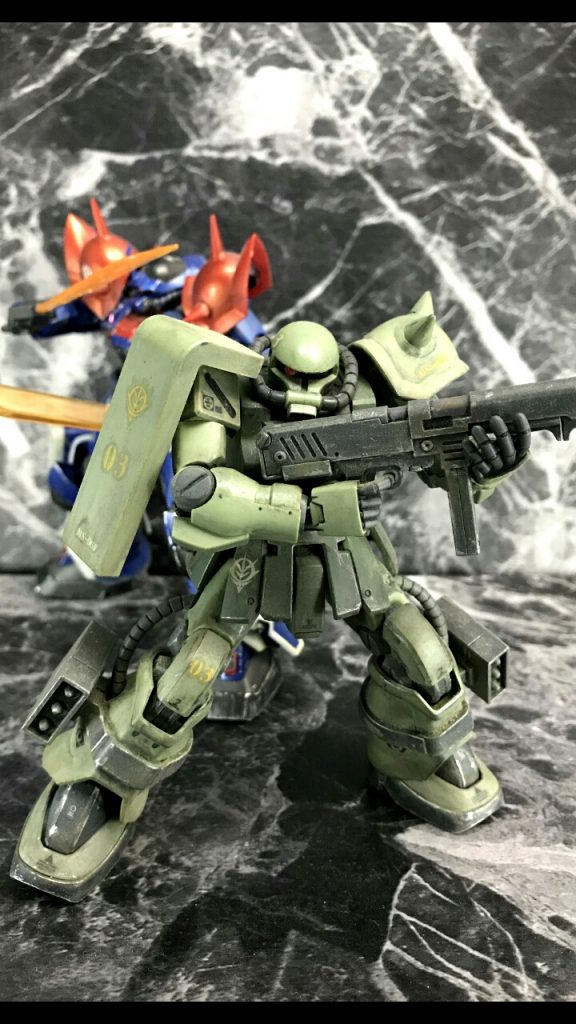 HGUC ザクⅡF2型