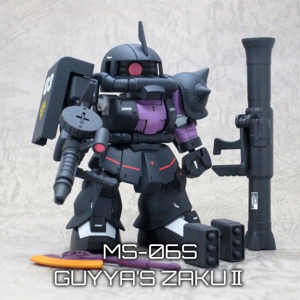 黒い三連星専用ザクⅡ(ガイア機)