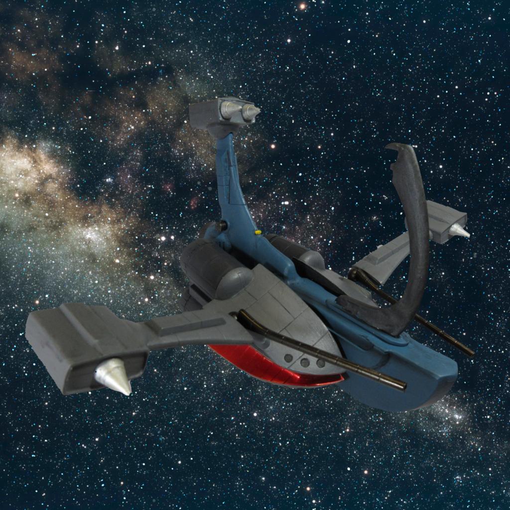 有線式メガ粒子砲搭載急襲艦レイド・ホーン