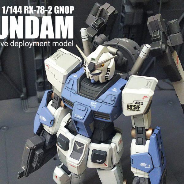 ガンダム RX78-2 GNOP GN drive deployment model