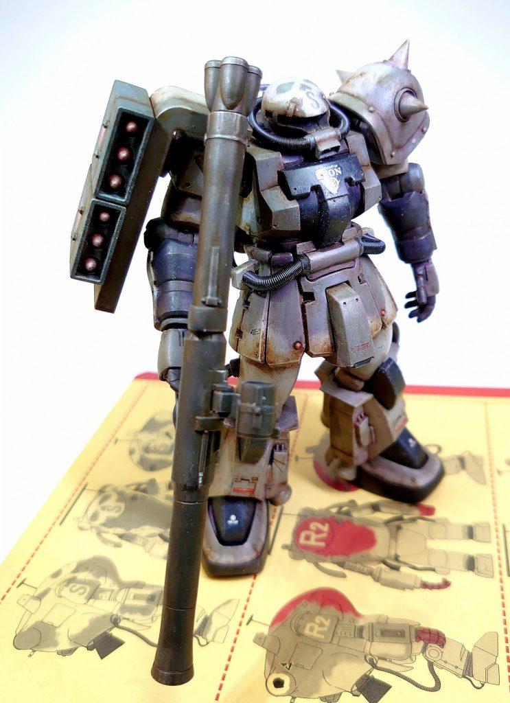 MS06R Zaku2(F2)マシーネンカラー #すえ王