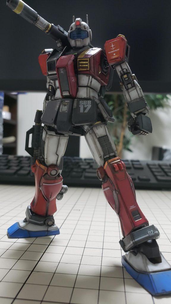 RGC-80S ジム・キャノン[空間突撃仕様]