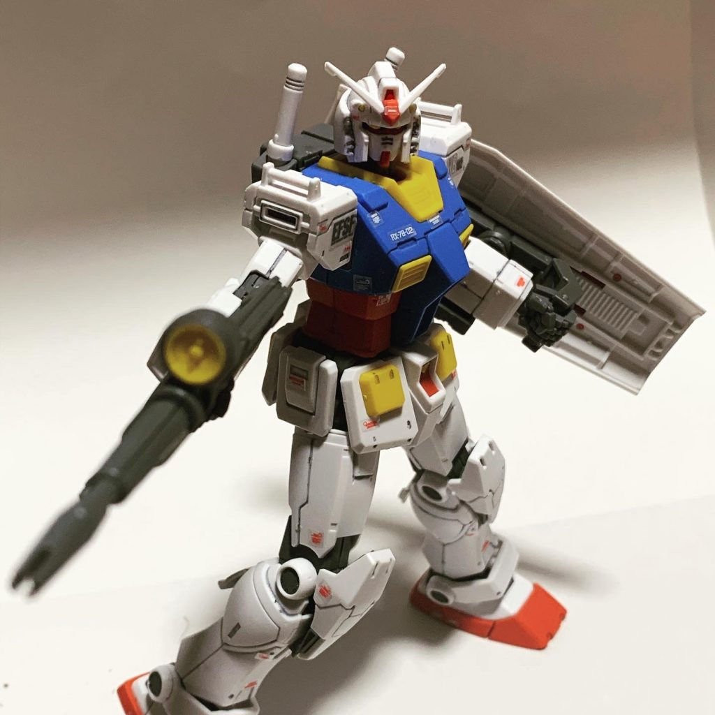 THE ORIGIN版RX78-2 ガンダム