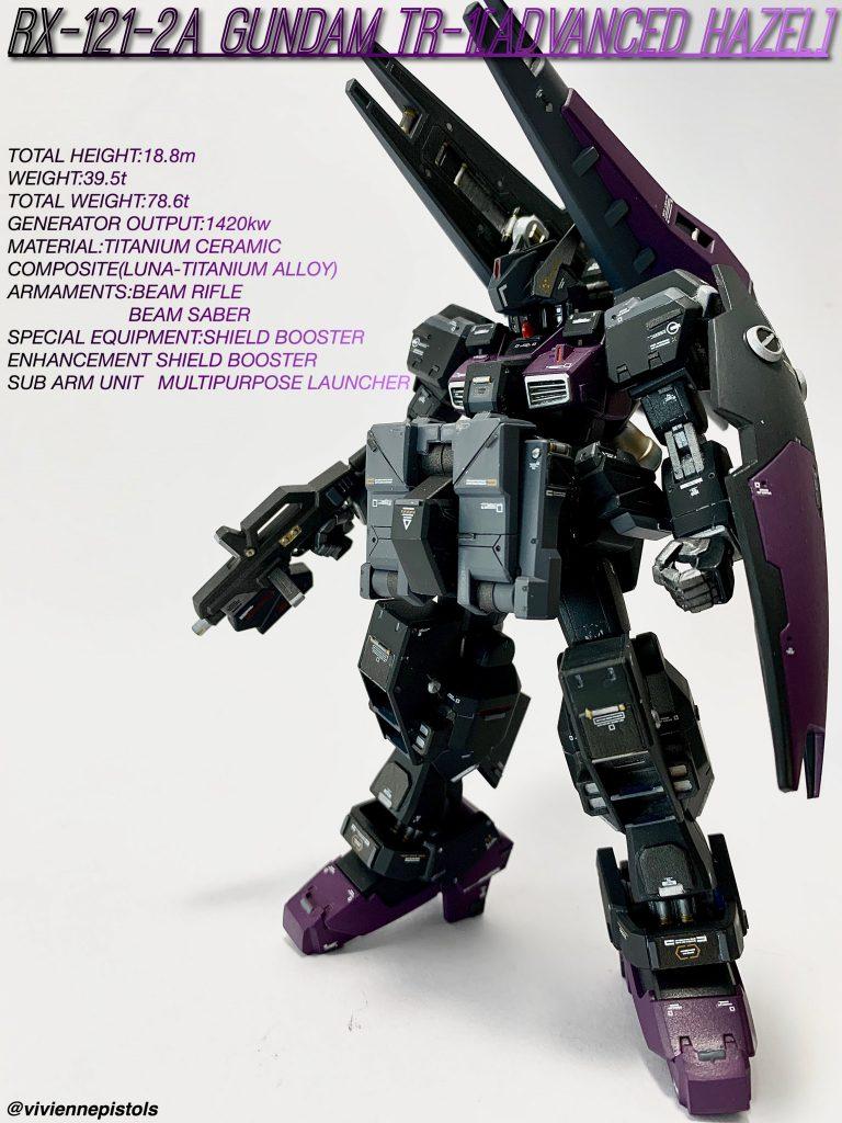 HG RX-121-2A ヘイズル