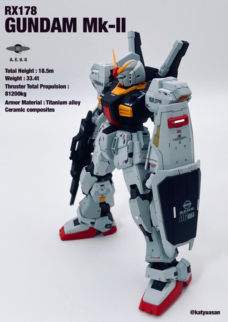 RG ガンダムMk-Ⅱ エゥーゴカラー
