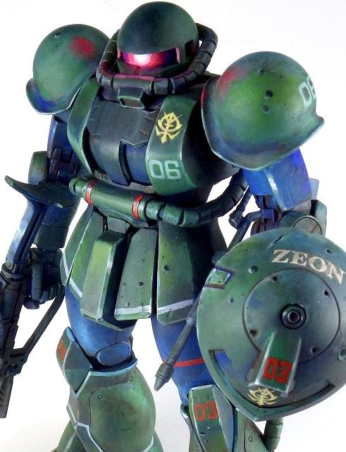 MS-06A ザク 1/100MG改
