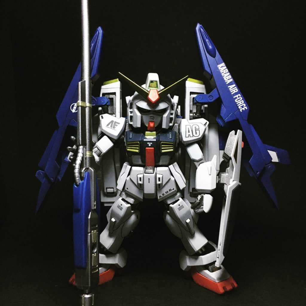 HG+SDスーパーガンダム