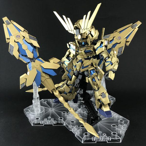 SDユニコーンガンダム3号機フェネクス(デストロイモード)