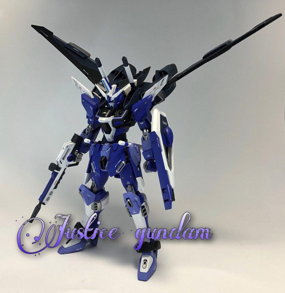 インフィニットジャスティス Ver.Blue
