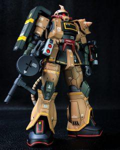 HG 1/144 MS-06D ザク・デザートタイプ