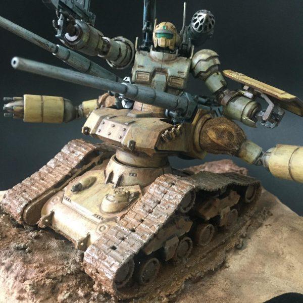 ガンキャノンタンク、MIXで主役級兵力に。