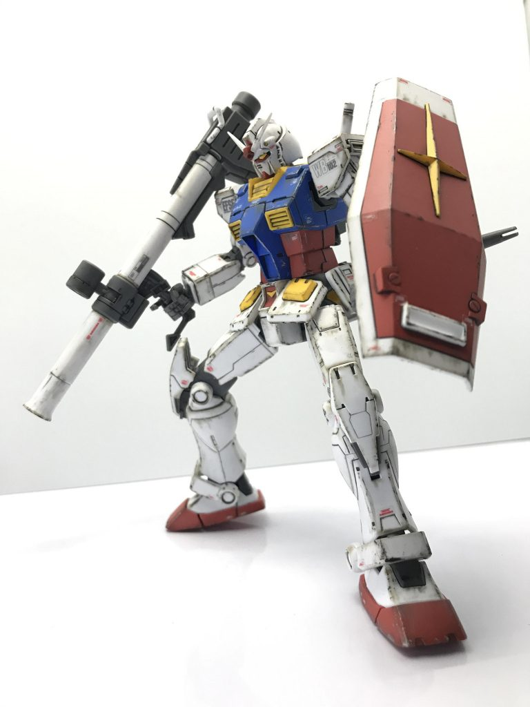 HG RX-78-02 ガンダム(GUNDAM THE ORIGIN版)