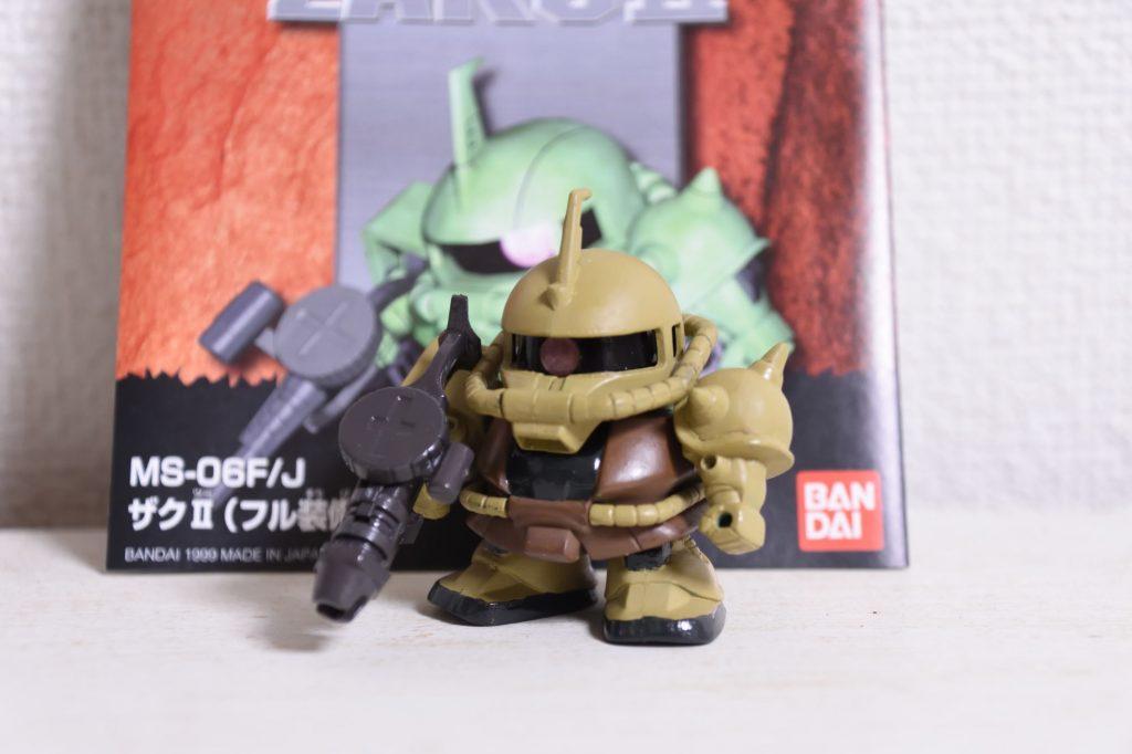 BB戦士ザクⅡ(ミリタリーカラー)