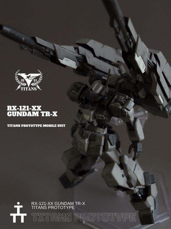 GUNDAM TR-X Titans Prototype