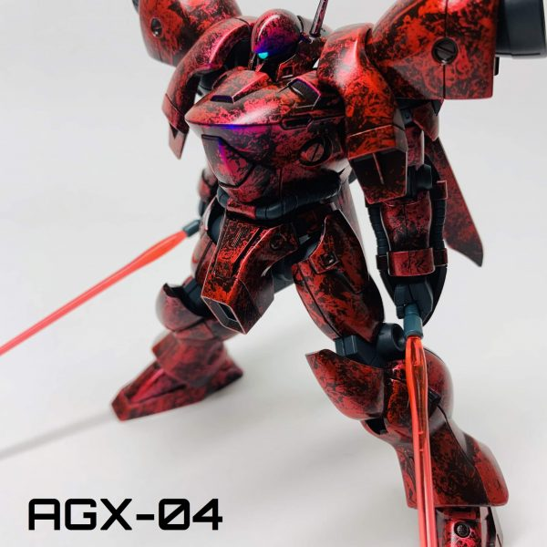 AGX-04 ガーベラ・テトラ ラップ塗装