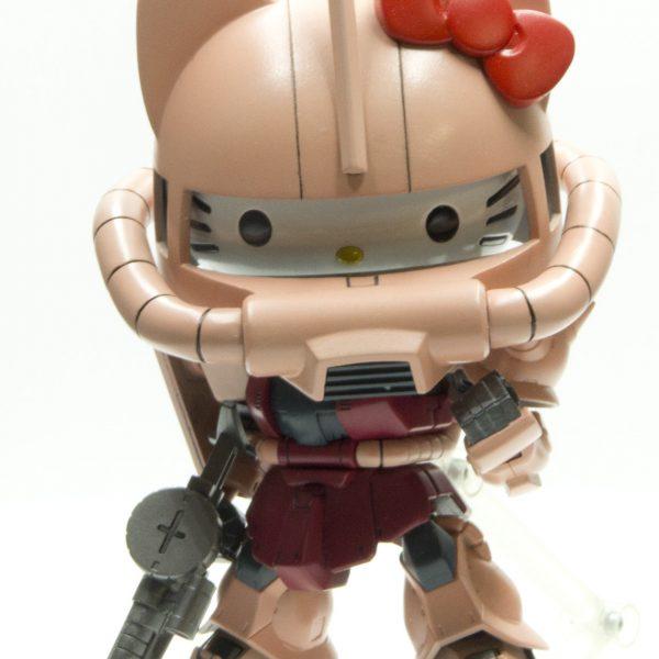 ハローキティ / MS-06S シャア専用ザクII