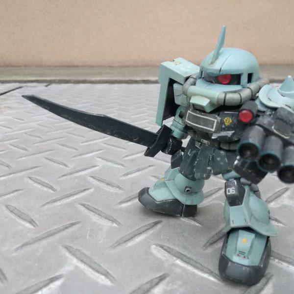 SDCSノリス・パッカード専用ザクⅡ