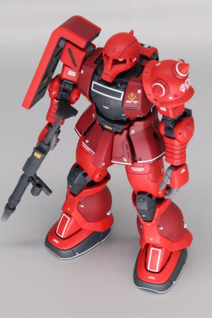 HG MS-05S シャア専用ザクⅠ 一応Limitedモデル