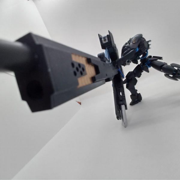 逆説構造体、形成します!生命距離弾、砲身に焼き付け!