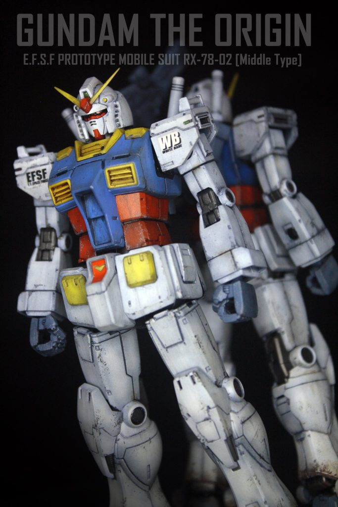 RX-78-02 ガンダム [中期型]