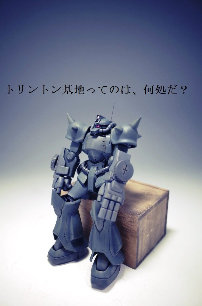 迷子 (グフ重装型)