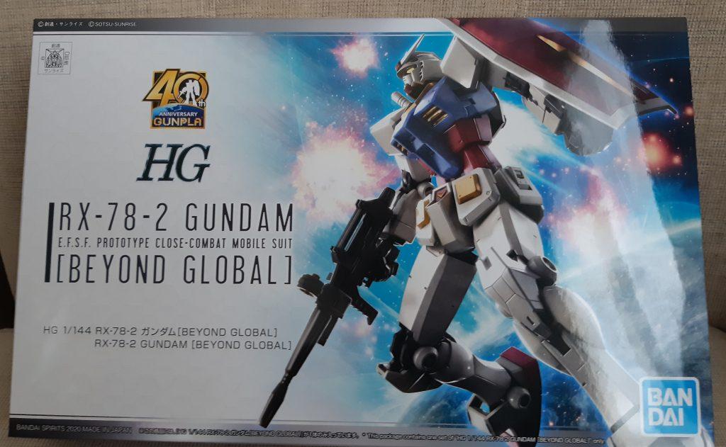 HG  RX-78-2  GUNDAM〔BEYOND GLOBAL〕