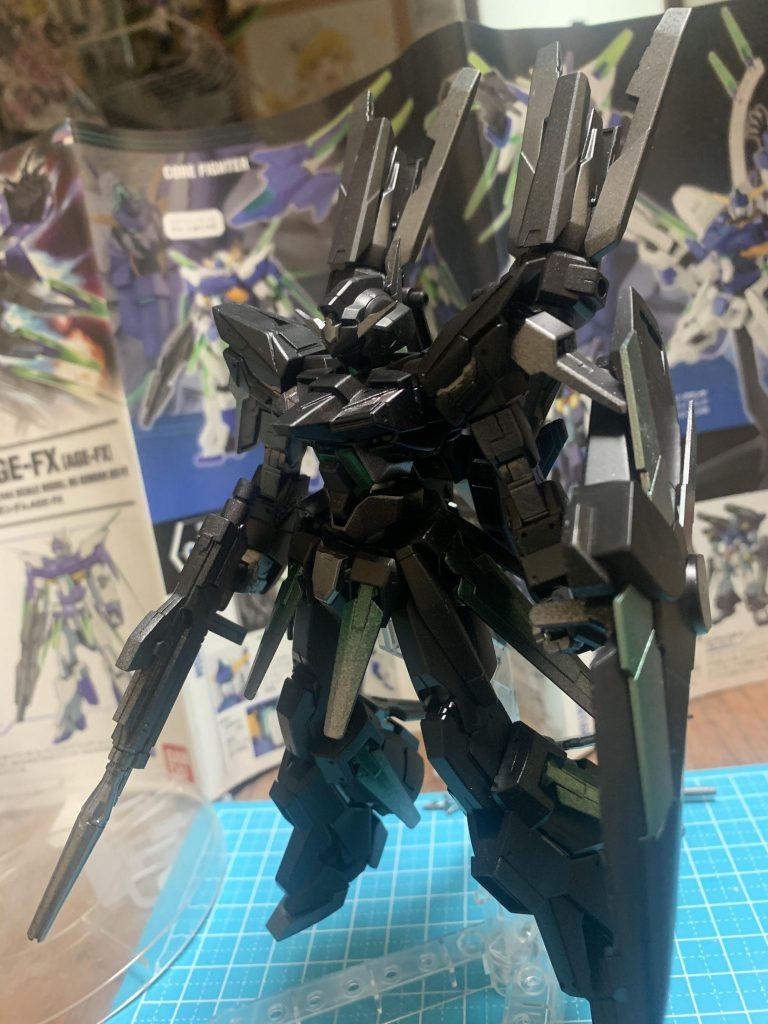 漆黒のガンダムAGEFX type phantom