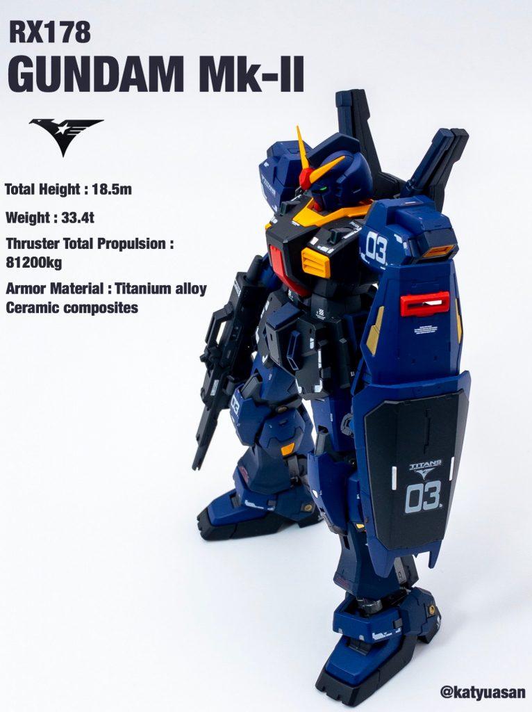 RG ガンダムMk-Ⅱ ティターンズカラー