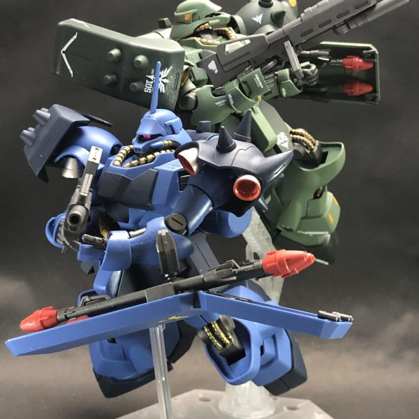 AMS-119 GEARA DOGA 青と緑