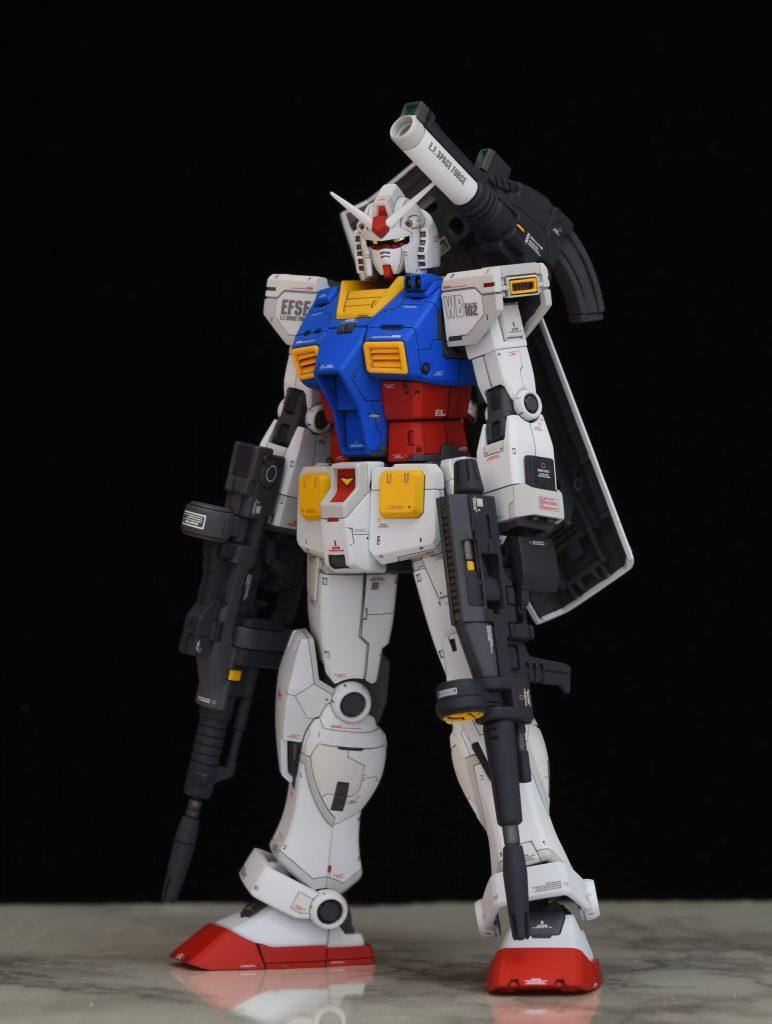 HG RX-78-02 オリジンガンダム