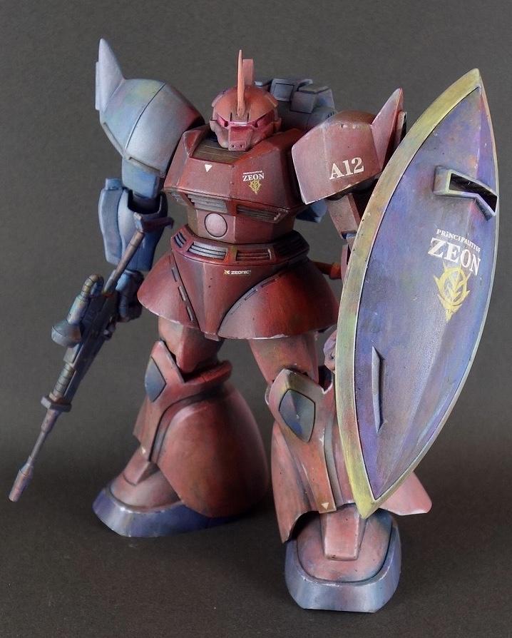 シャア専用ゲルググ(ア・バオア・クー脱出戦仕様)HGUC1/144