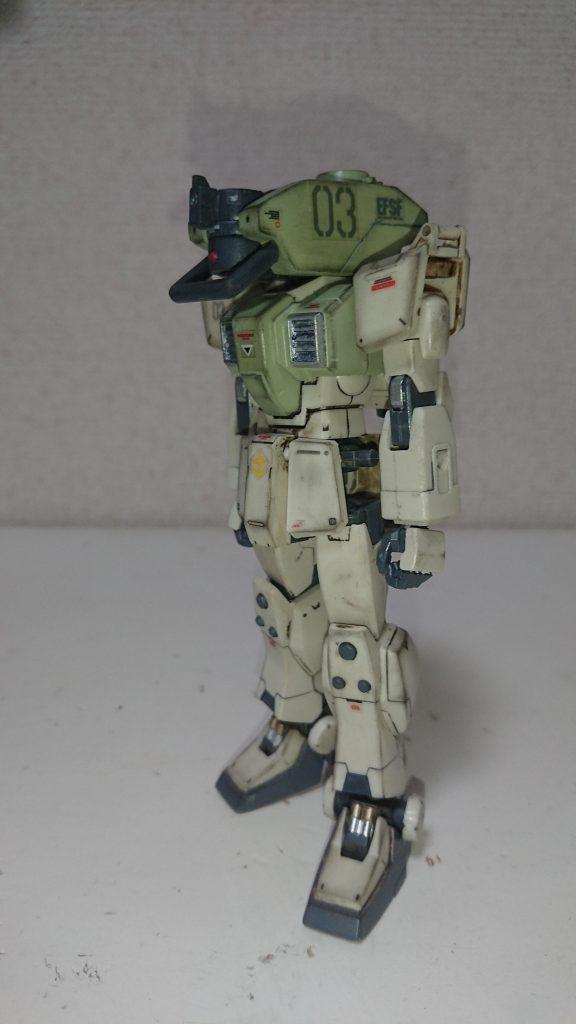 頭部バルカン試験用陸戦型ジム