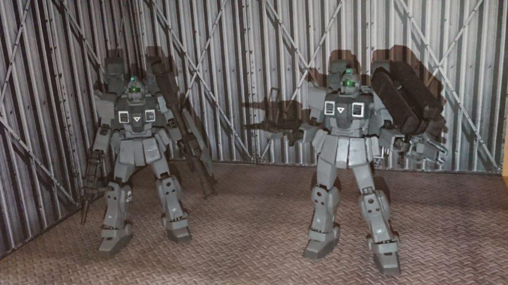 陸戦型ジム  (暗躍仕様)