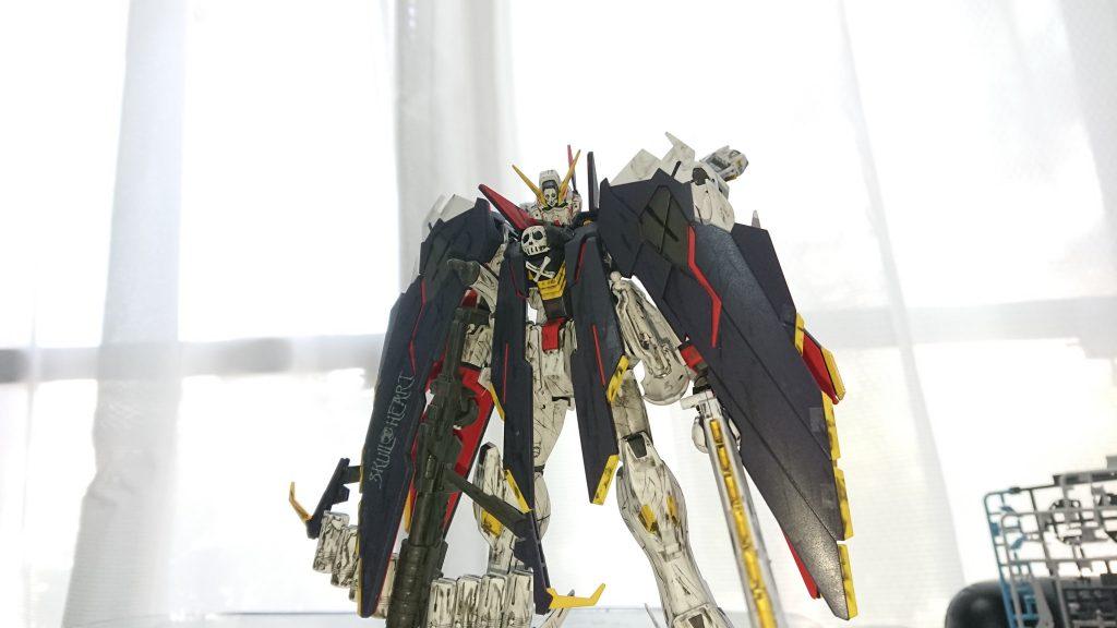 クロスボーンガンダムX1フルクロス(初心者作成)