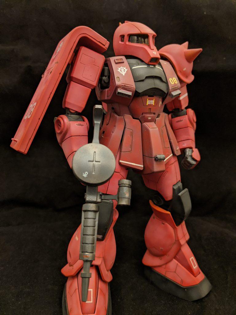 MG MS-05S シャア専用ザクI