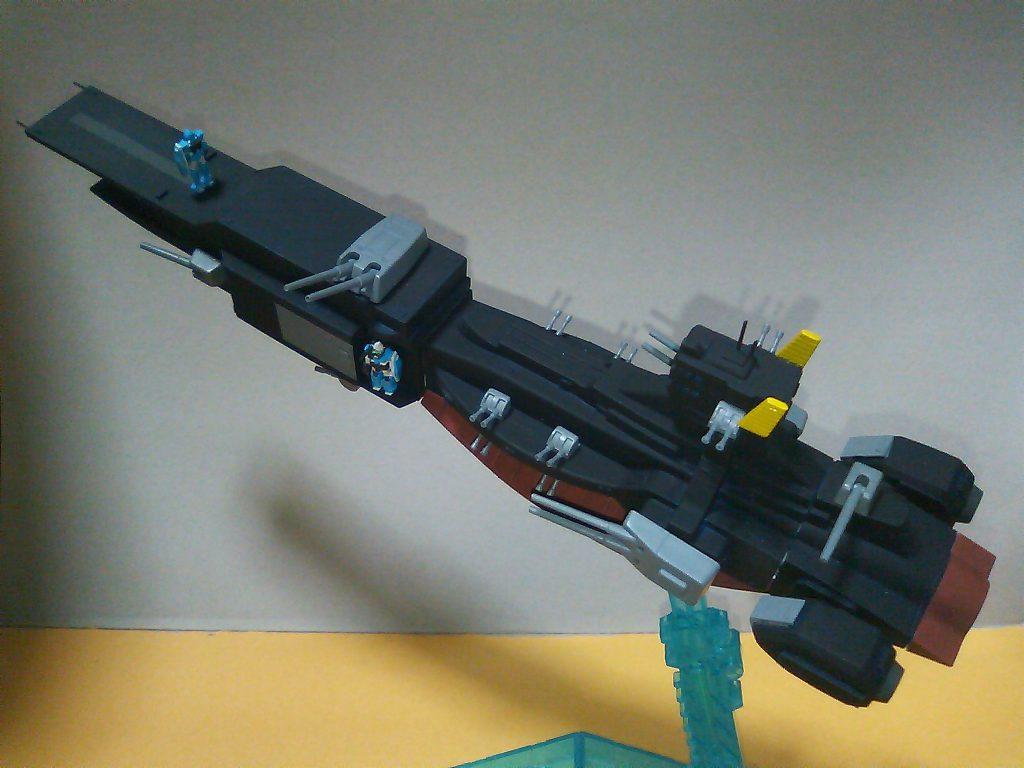 サラミス改装型試作MS軽空母 『ストックホルム』