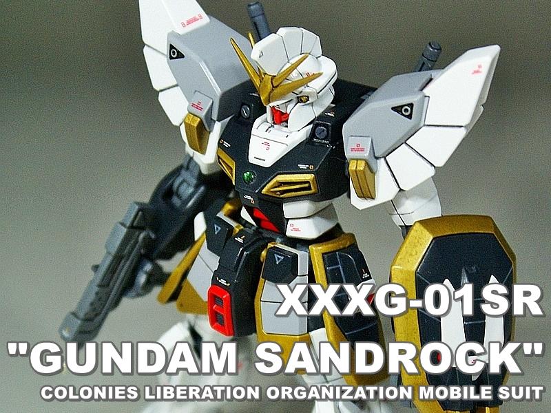 """HGAC XXXG-01SR """"GUNDAM SANDROCK"""""""