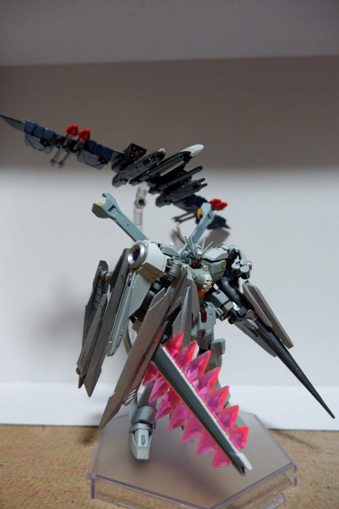 クロスボーンガンダムX-GN グレイガスト with 支援機