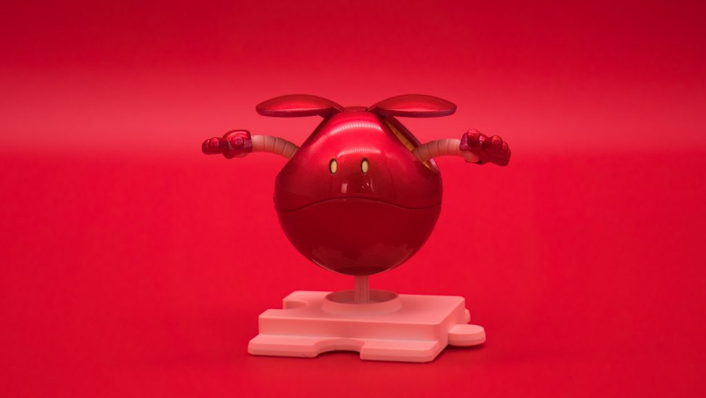 ハロプラ2体でキャンディ塗装