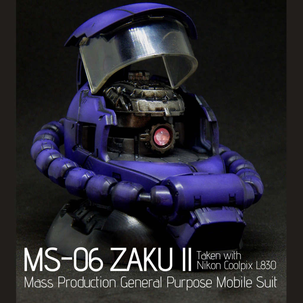 Exceed Model Zaku II Head